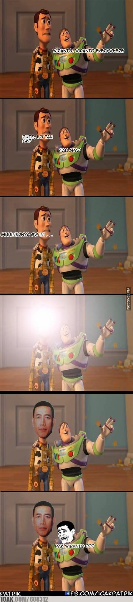 Meme Lucu Wiranto Menyamar 8