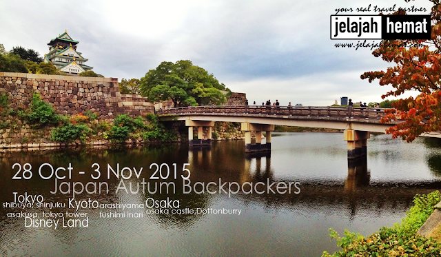 Japan Autum Backpacker Liburan Musim Gugur di Jepang