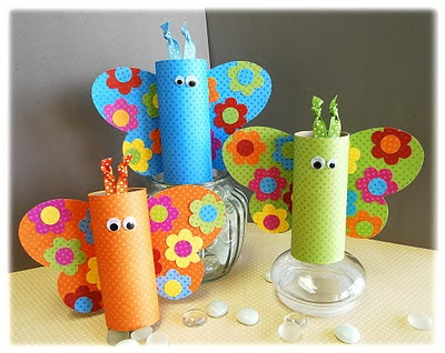 Ten Great Toilet Paper Roll Crafts For Kids
