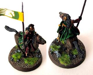 Malowanie Królewskiej gwardii Rohanu
