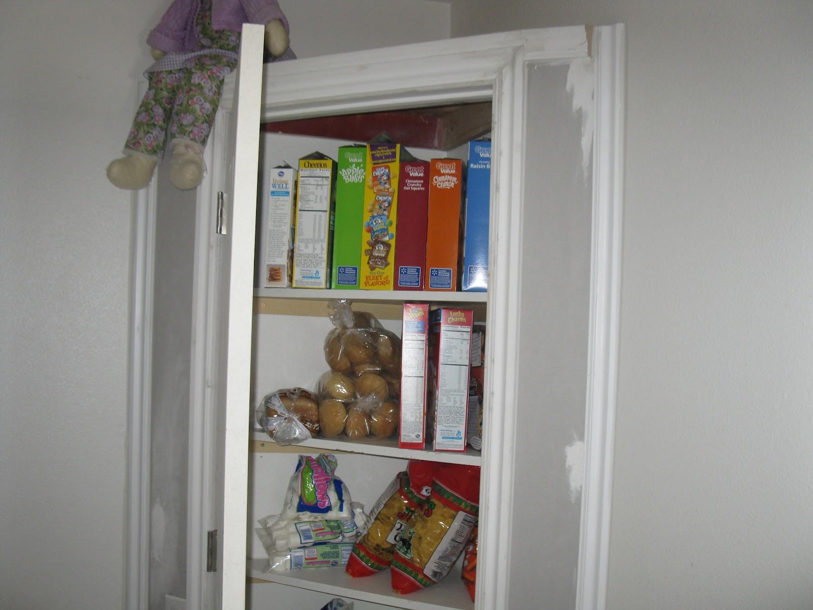 Corner Kitchen Pantry Closet