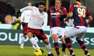 Bologna Roma 0-2 highlights