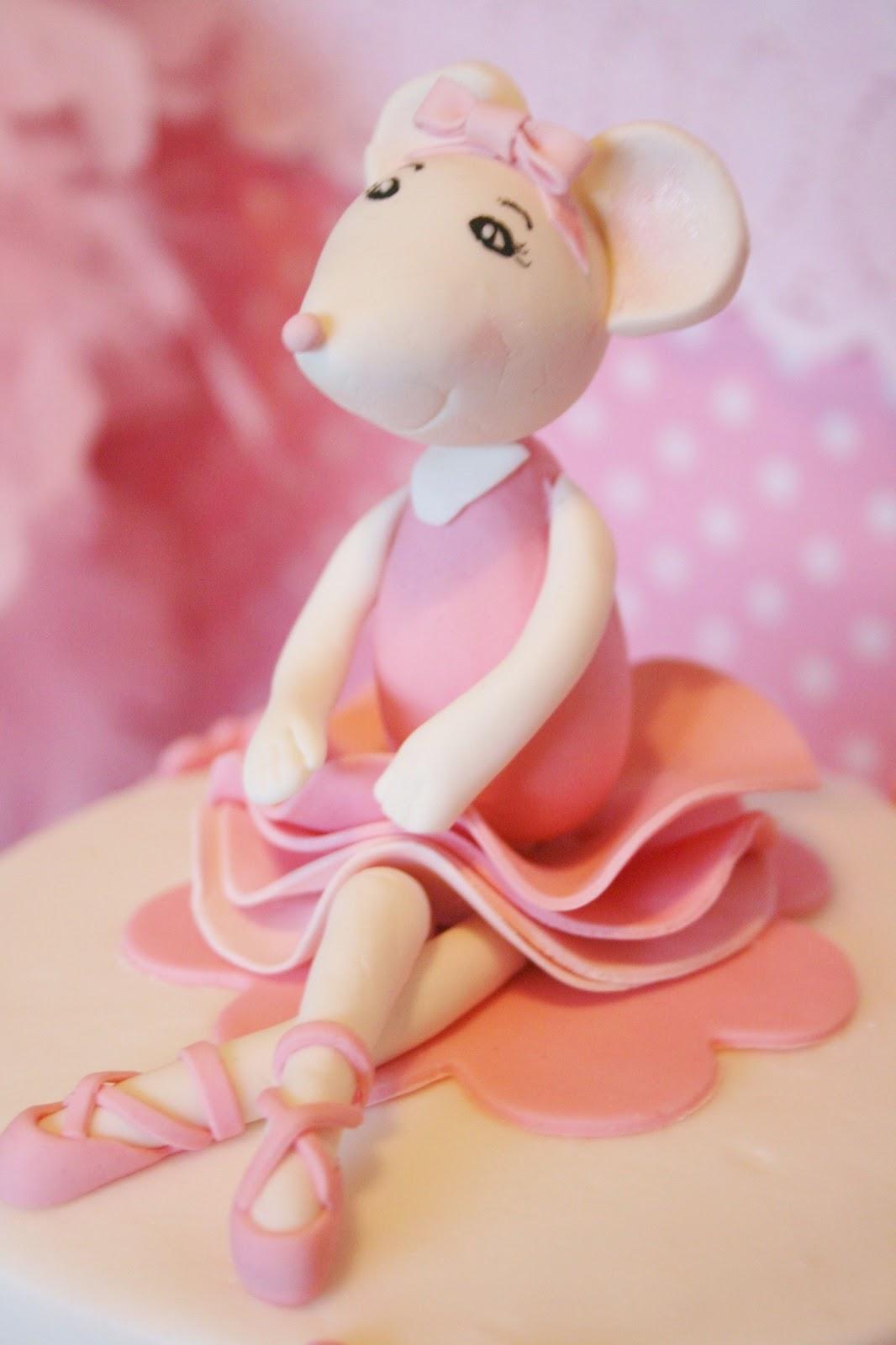 Angelina Ballerina Cake Topper