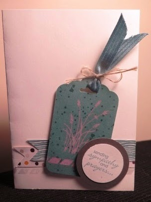 Bleached card by zena kennedy independant stampin up demonstrator