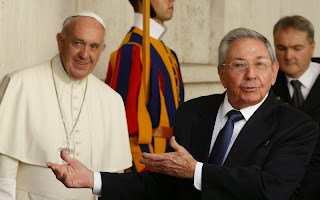 Raul Castro Says Private Meeting With Pope Francis Has Inspired Him to Return to Catholic Faith