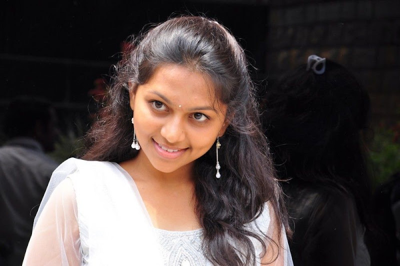 Sri  New Telugu Heroine PicsPhotos white dress hot photos