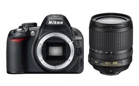 Nikon d3100 + obiectiv 18-105mm VR