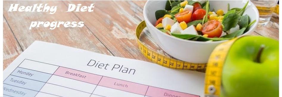 Healthy  Diet Progress