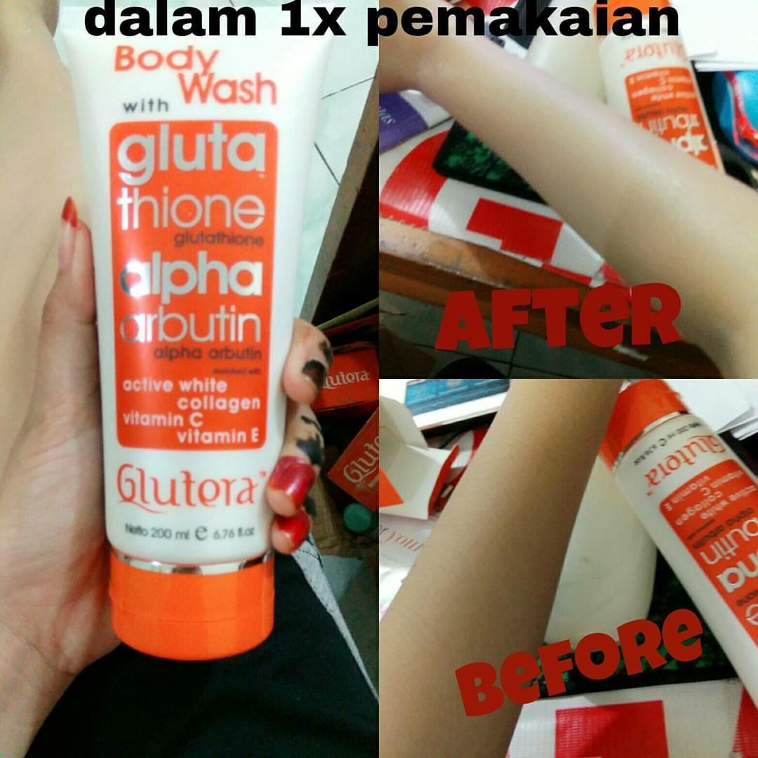 Body Wash Glutera