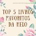 Top 5 livros favoritos da Helo