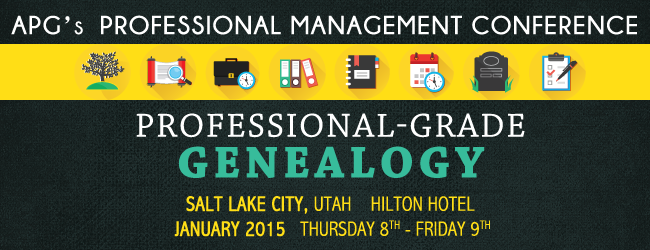 APG Professional Management Conference 8-9 January 2015