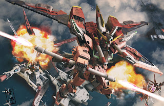deviantart digital painting fanart gundam fan art sandrum infinite justice charge