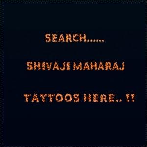 Shivaji Maharaj Tattoos