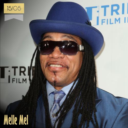 15 de mayo | Melle Mel - @MusicaHoyTop | Info + vídeos