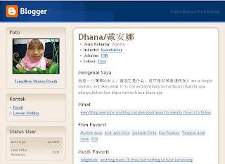 Profil Blogger Mba Dhana