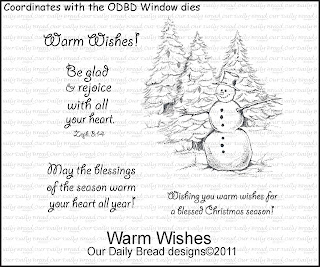 Our Daily Bread Designs - Stamps Warm Wishes