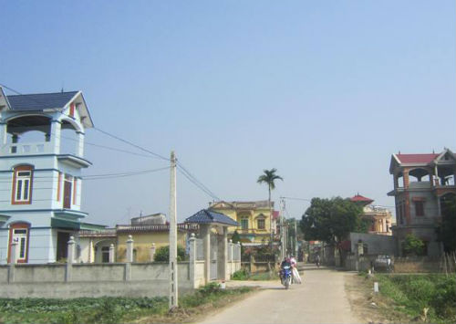 An Hòa: Cán đích thôn nông thôn mới