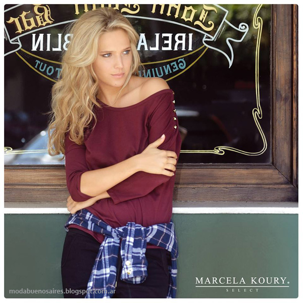 Moda invierno 2014 - Marcela Koury Select colección otoño invierno 2014 con Luisana Lopilato.