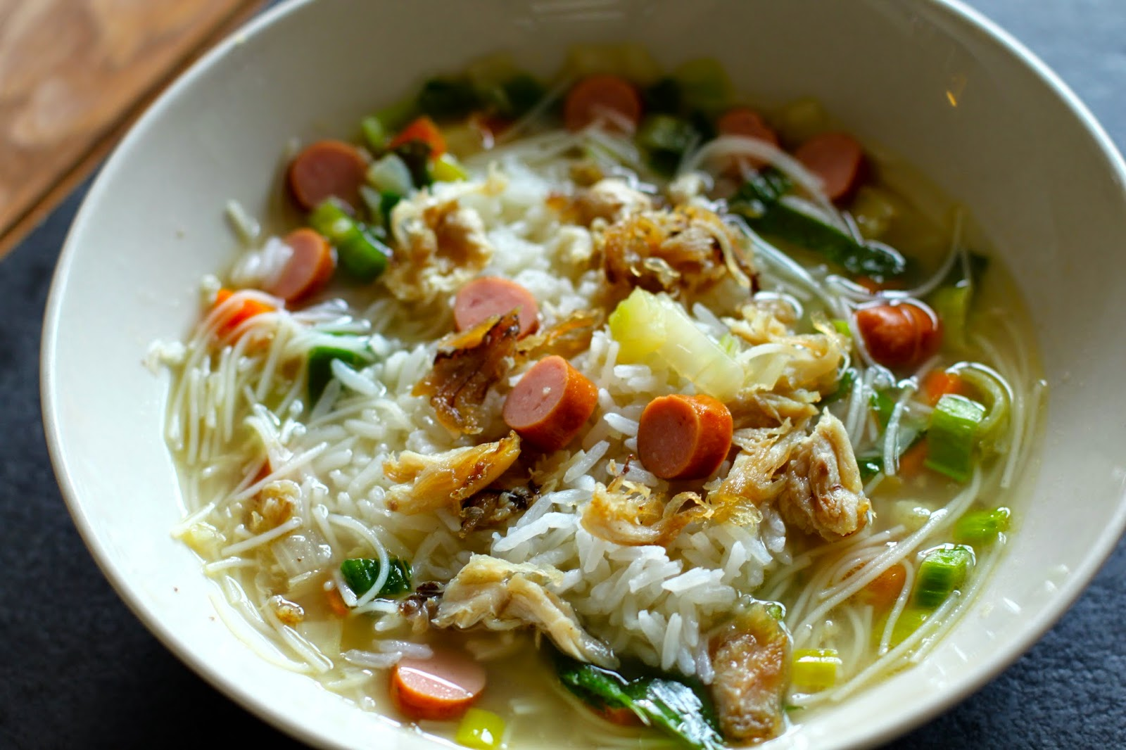 SOP AYAM MAMI | MY MAM'S CHICKEN SOUP WITH RICE