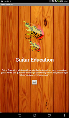 Aplikasi Android Guitar Education