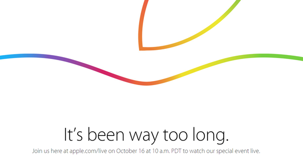 Apple's October 16, 2014 iPad, Mac Event Live Streaming Video Link via iOS, OS X, Windows, Apple TV