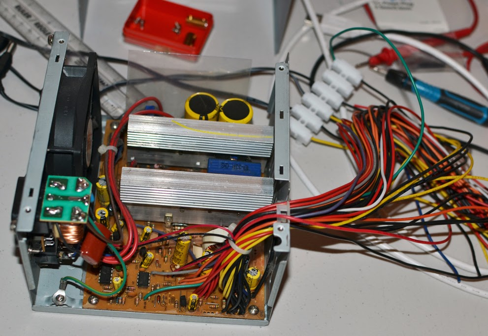 Turning an old PC ATX Power Supply into a bench PSU ~ ELECTRONICLE