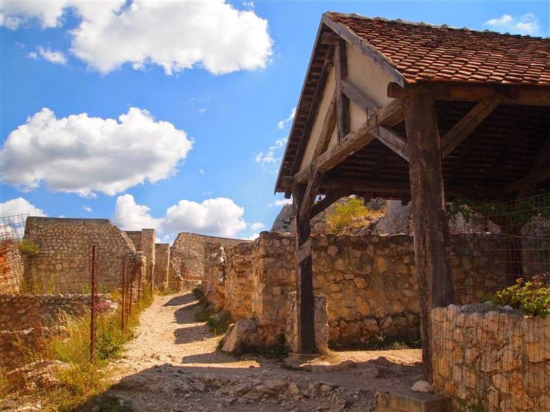 Casas de la ciudadela de Rasnov