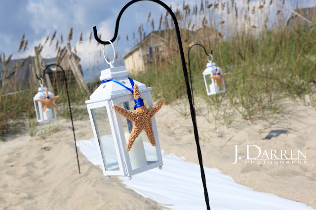 photo of Beach wedding ceremony arrangements