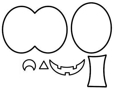 Jack O Lantern Face Templates Printable - Colorings.net