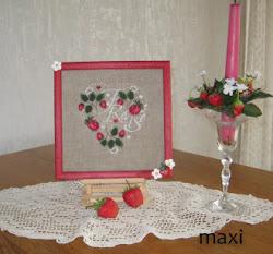 Erdbeer Herz © Isa V.