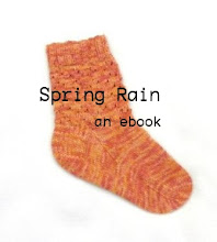 Spring Rain ebook (socks & egg cozy)