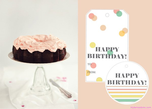 Free printable happy birthday gift tags triple max tons free printable happy birthday gift tags negle