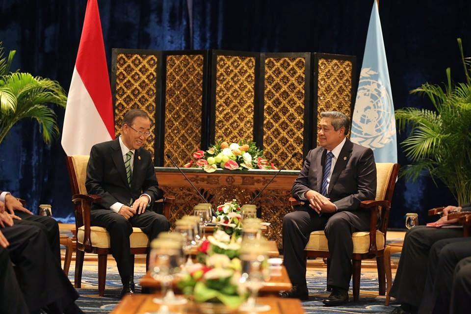 Presiden SBY Pimpin Pleno KTT Iklim