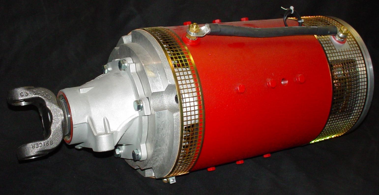 Smart fortwo el ctrico una conversi n de primera for Impulse 9 electric motor
