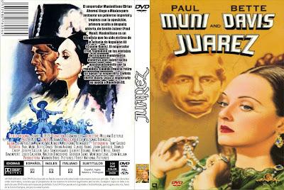 Cover, dvd, carátula: Juarez