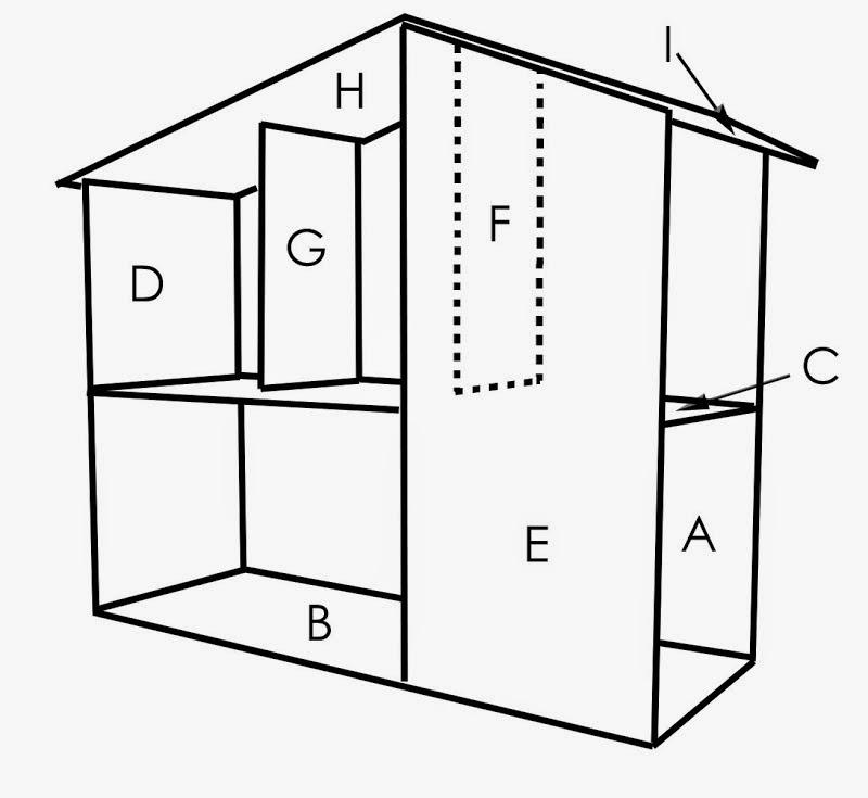 Costruire riciclando una bellissima casa per le bambole for Come ottenere un prestito di costruzione per costruire una casa