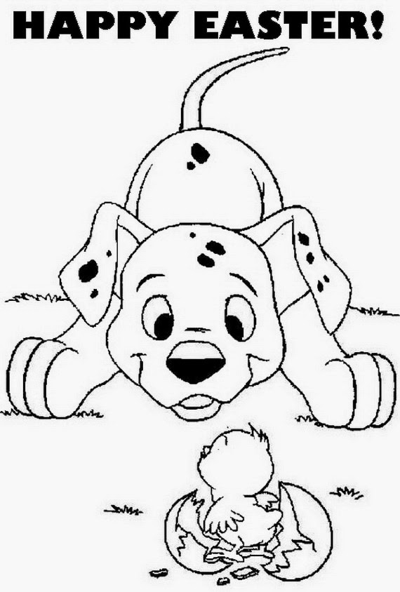 easter clip art coloring pages - photo #33