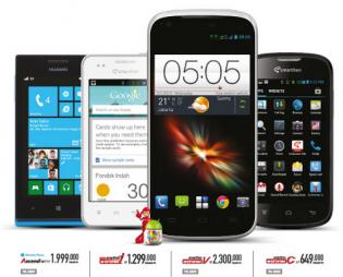 Harga HP Smartfren Android Maret 2014