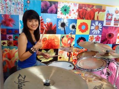 Foto Profil Biodata Alsa Drummer Setia Band