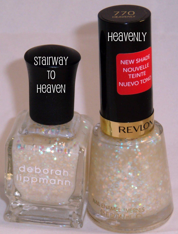 Obsessive Cosmetic Hoarders Unite!: Revlon Heavenly Nail Polish VS ...