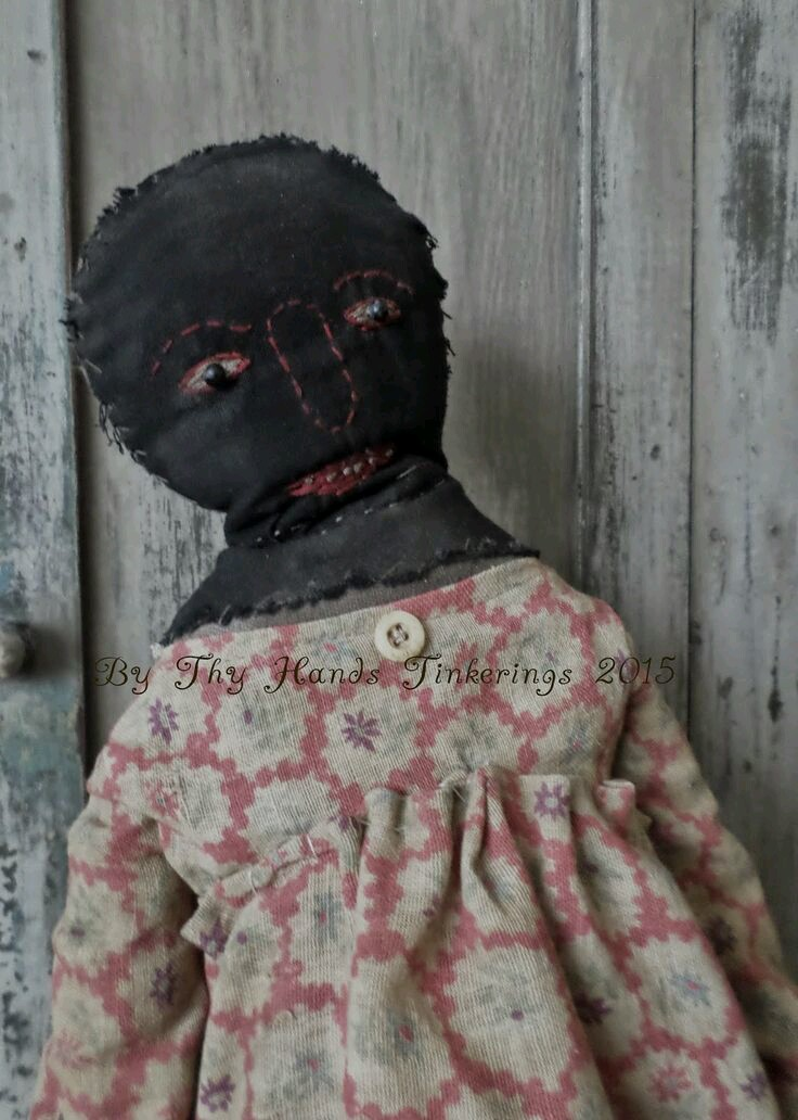 Olde and Early one of my Black dolls 2015