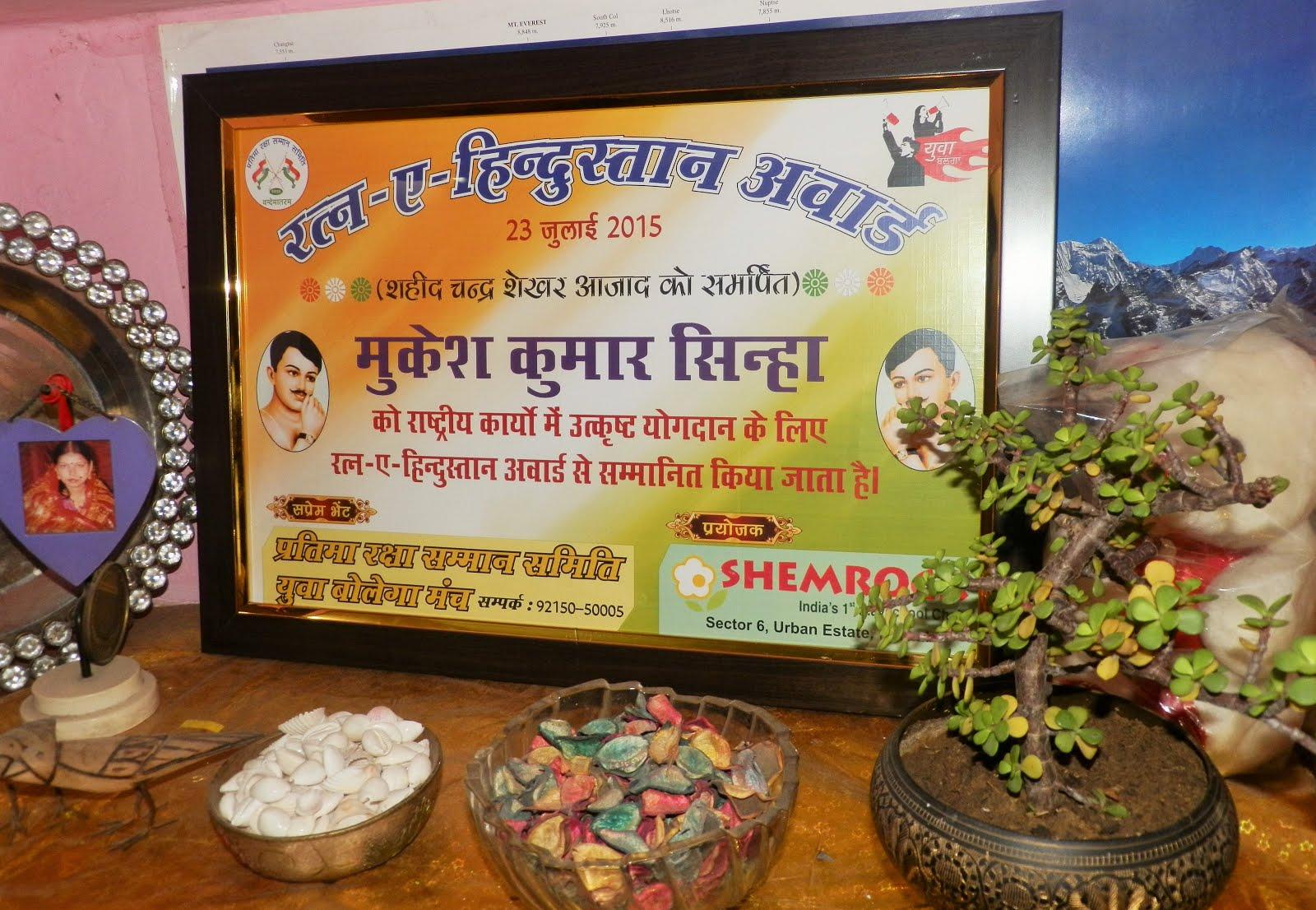 रत्न-ए-हिंदुस्तान 2015
