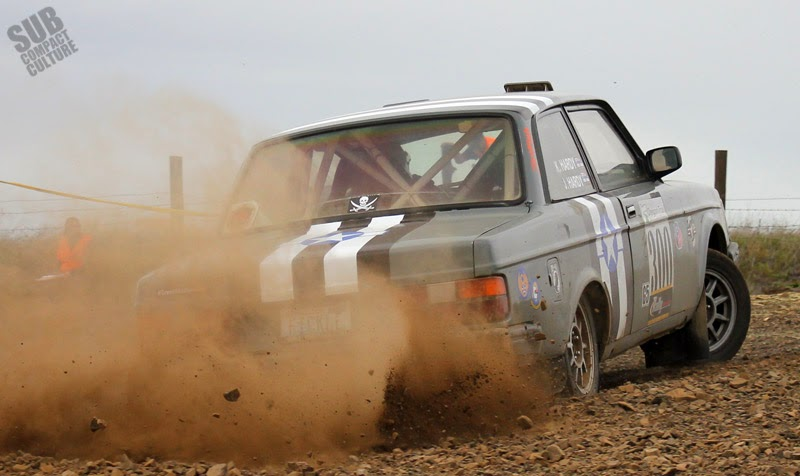 Volvo 240 getting sideways