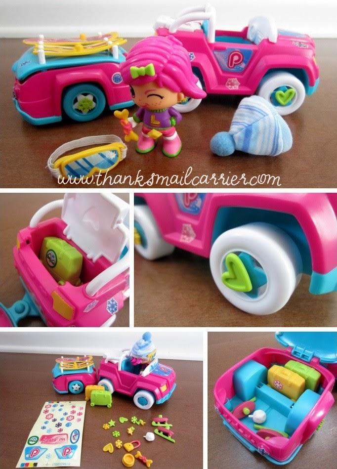 Pinypon snow car