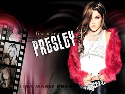 Lisa Marie Presley sexy eyes
