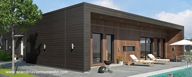 Arquitectura de casas casas modernas y contempor neas de - Casas prefabricadas nordicas ...