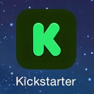 kickstarter app esteban logo application