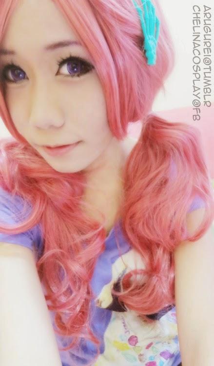 Raspberry Pink Lolita Wig