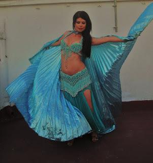 traje danza oriental