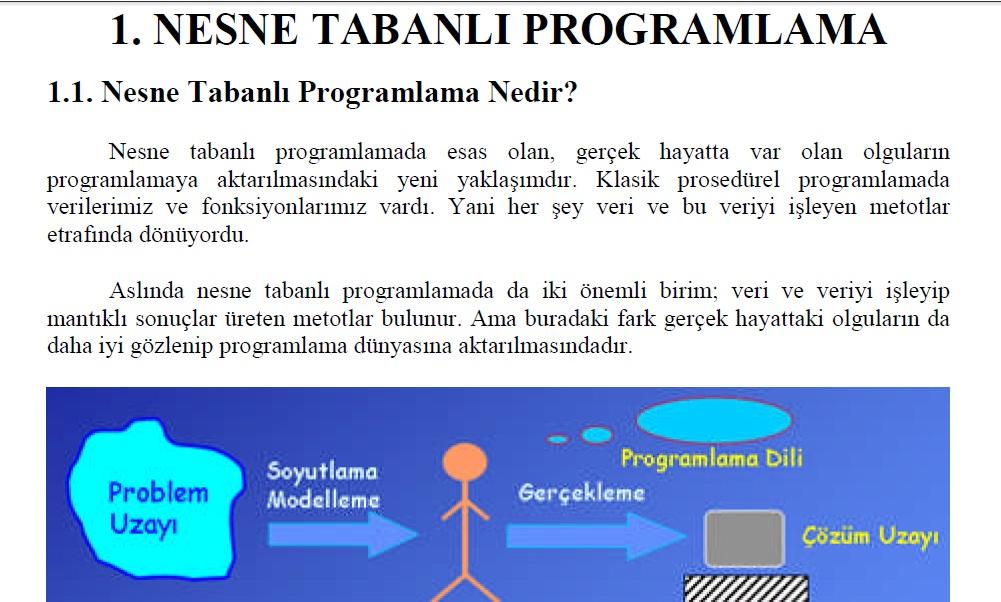 Tabanlı programlama paket programlar ve programlama temelleri
